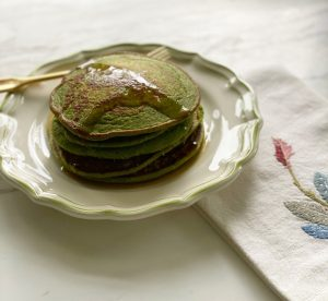 Green Banana Pancakes